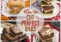 How to Cut Perfect Cookie Bars