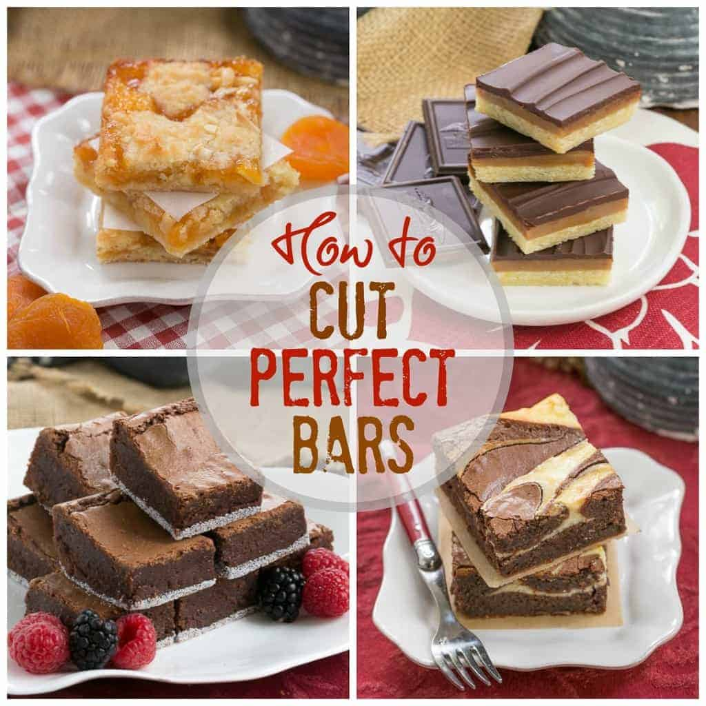 How to Cut Perfect Cookie Bars | My tried and true method for cutting perfect cookie bars and brownies