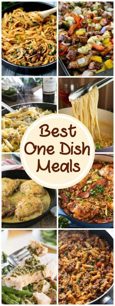 Best One Dish Meals   Delicious easy dinner recipes for back to school