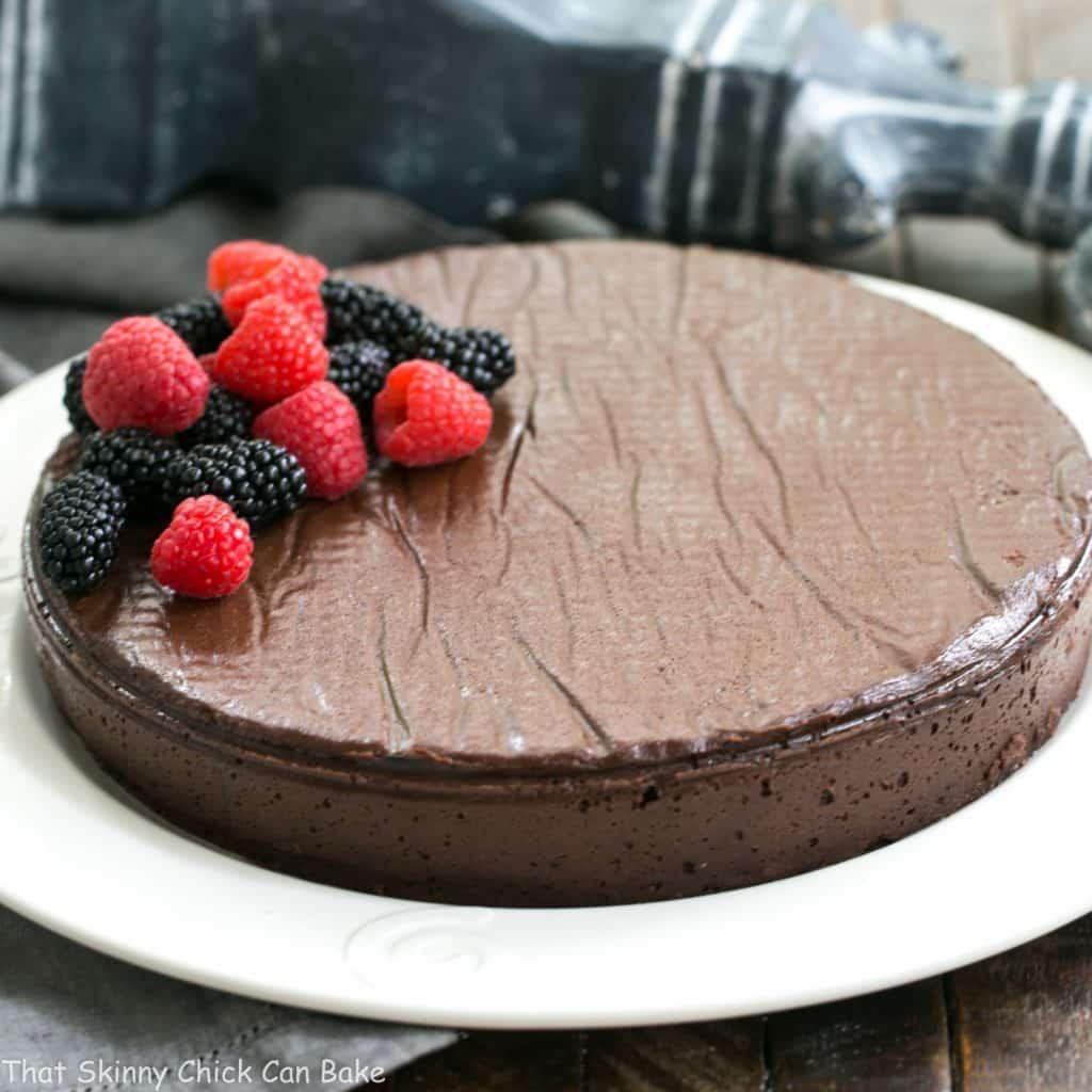 Princeville Hotel's Flourless Chocolate Cake
