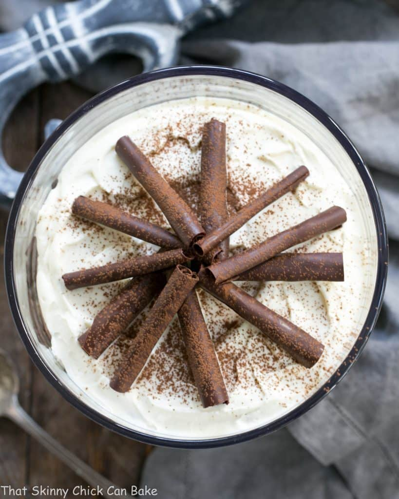 Fudgy Brownie Trifle with Chocolate Mousse