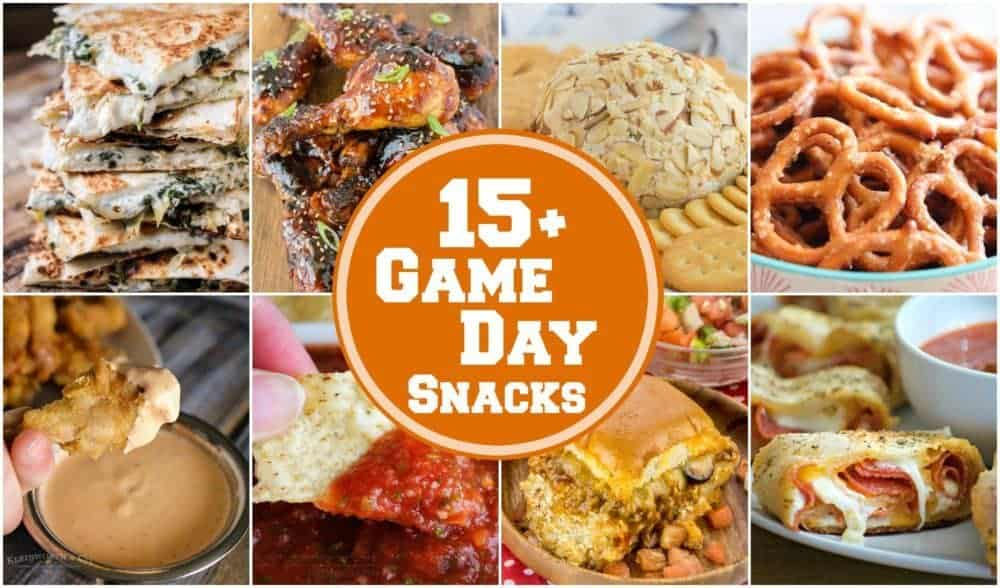 15+ Game Day Snacks | The BEST Game Day Snacks for all your entertaining needs!