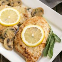 Creamy Chicken Marsala with Herbed Mushrooms   Layers of flavor make one restaurant worthy entree!