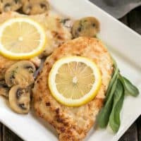 Creamy Chicken Marsala with Herbed Mushrooms featured image