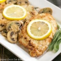 Creamy Chicken Marsala with Herbed Mushrooms | Layers of flavor make one restaurant worthy entree!