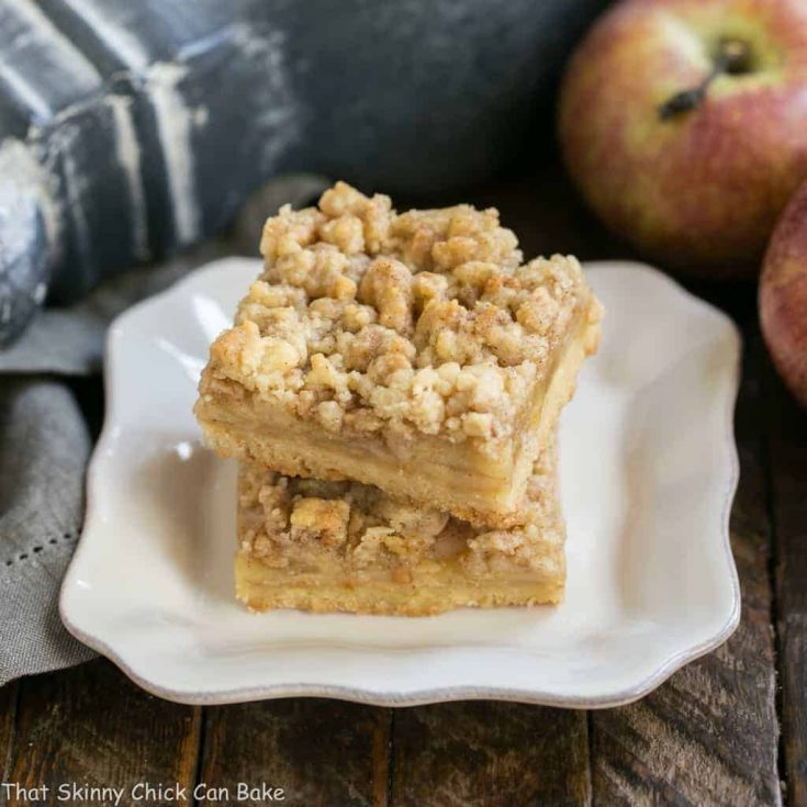 Caramel Apple Pie Toffee Bars