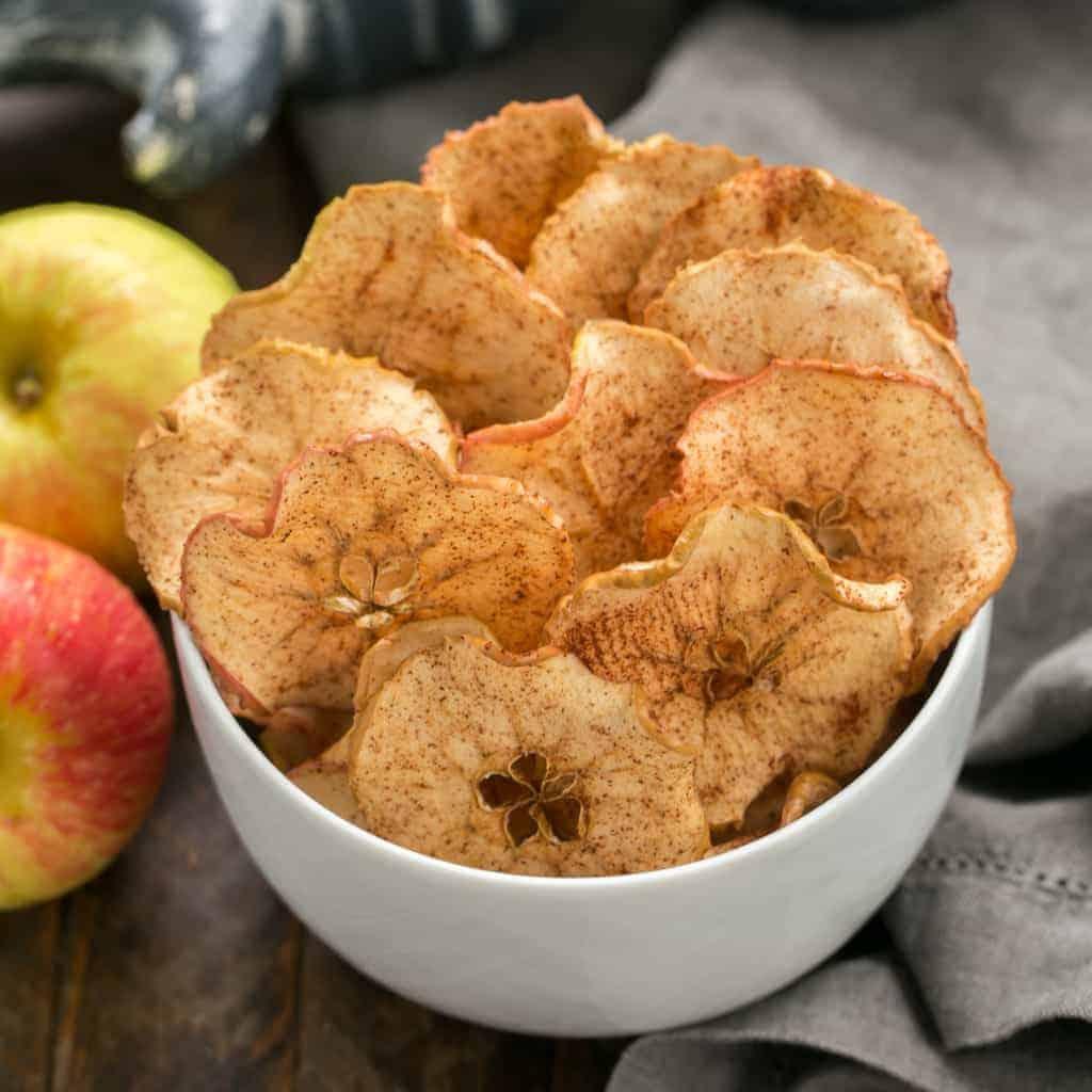 Cinnamon Apple Chips   An irresistible 3-ingredient snack