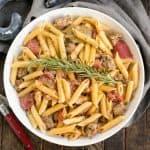 Creamy Italian Sausage Pasta Recipe