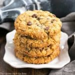 Loaded Cowboy Cookies Recipe | Buttery cookies with oats, chocolate chips, pecans and coconut
