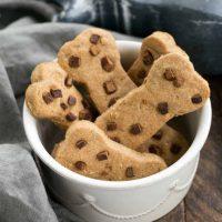 Peanut Butter Dog Bone Treats   Homemade dog snacks your pet will adore!