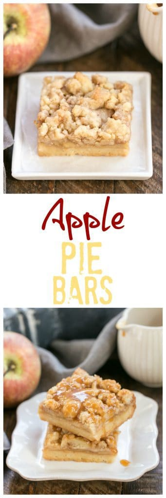 Caramel Apple Pie Toffee Bars | A delectable autumn apple treat!