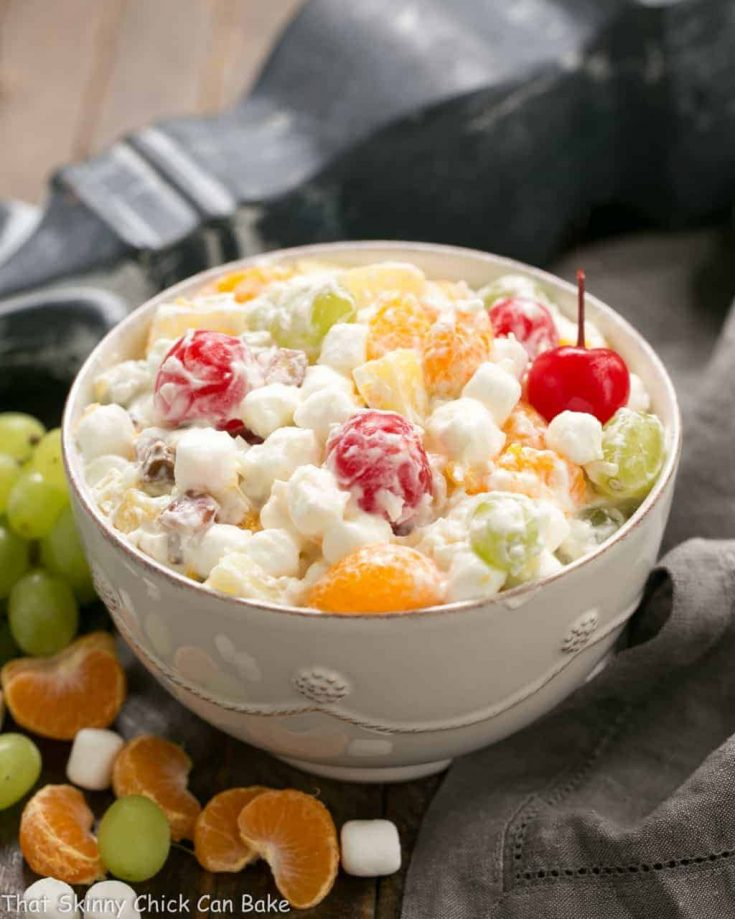 Best Ambrosia Salad No Cool Whip That Skinny Chick Can Bake