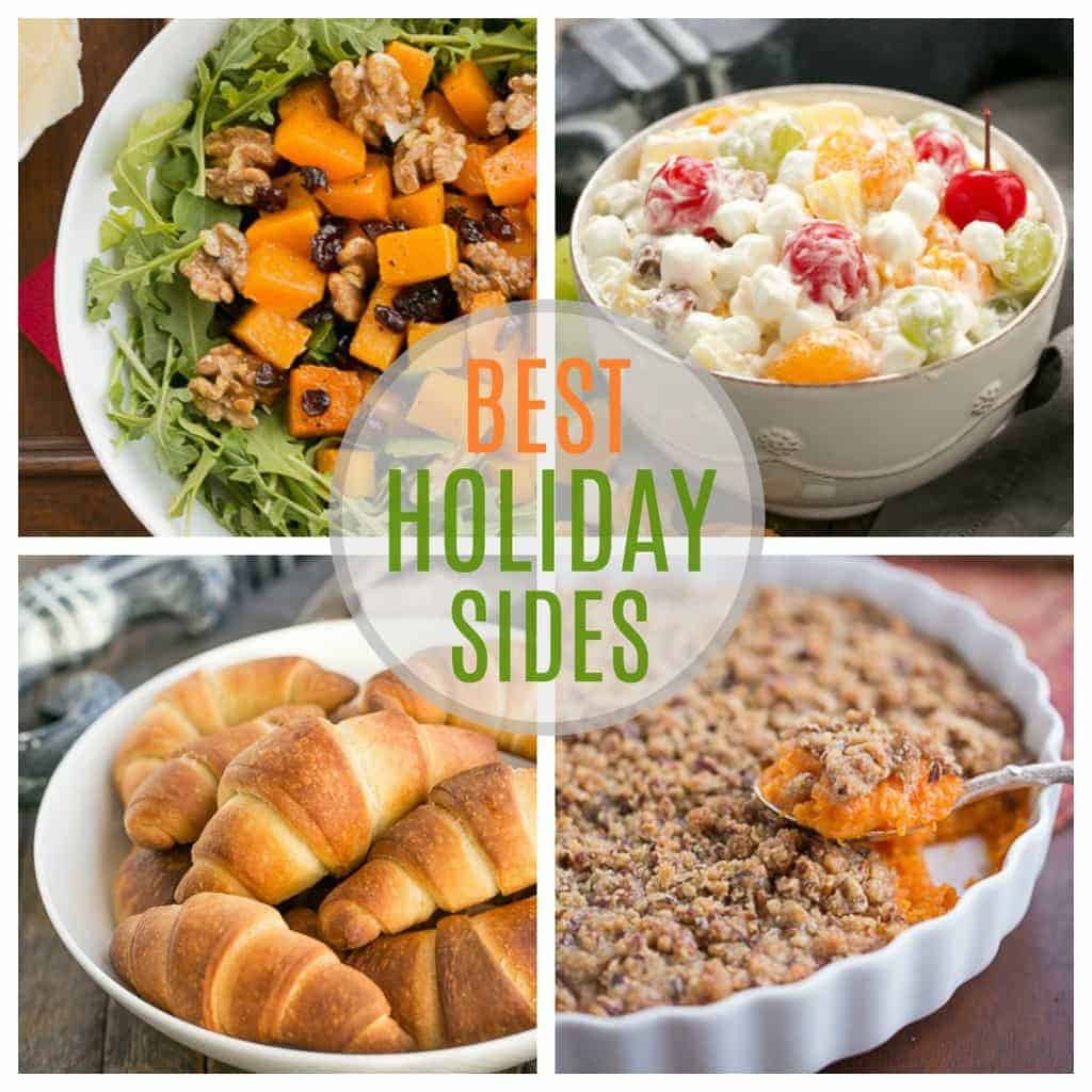 Best Holiday Side Dishes | Fabulous, festive side dishes perfect for company or holidays!