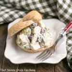 Curried Turkey Salad Sandwich   Made with leftover turkey and a hint of curry!