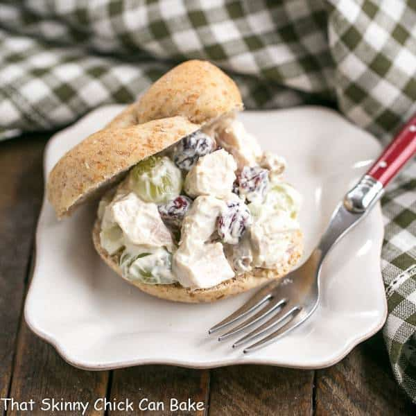 Curried Turkey Salad Sandwich | Made with leftover turkey and a hint of curry!