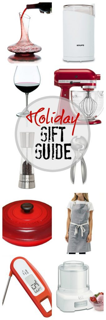 2017 Holiday Gift Guide | Gifts for your favorite foodies! #shopping #giftideas #foodies #blackfriday