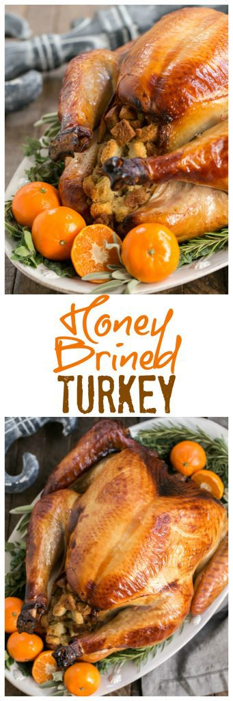 Honey Brined Turkey Recipe | The perfect way to get succulent meat from your holiday turkey