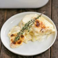 French potato gratin featured image