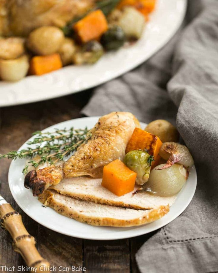 Sheet Pan Chicken with Roasted Fall Vegetable