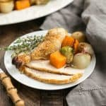 Sheet Pan Chicken with Roasted Fall Vegetables