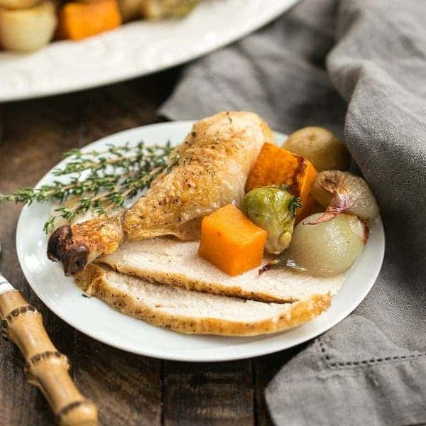 Sheet Pan Chicken with Roasted Fall Vegetables   One pan; one delicious meal!