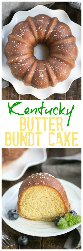 Kentucky Butter Bundt Cake | A simple, versatile butter cake that can be served in so many ways!