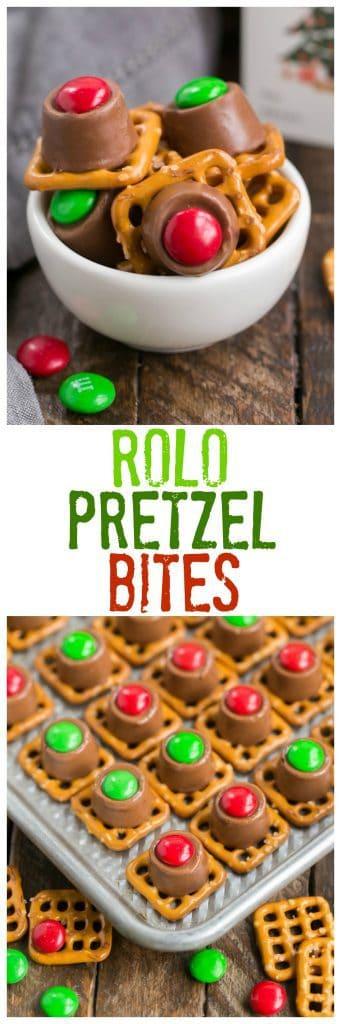 Easy Rolo Pretzel Bites That Skinny Chick Can Bake