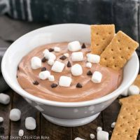 Easy S'mores Dessert Dip | Only 3 ingredients and everyone will ask for the recipe!