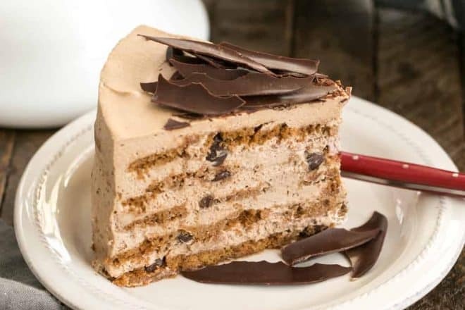 Mocha Chocolate Chip Cookie Icebox Cake That Skinny Chick Can Bake