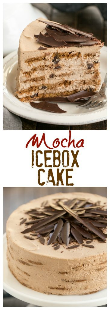 Mocha Chocolate Chip Cookie Icebox Cake Sundaysupper