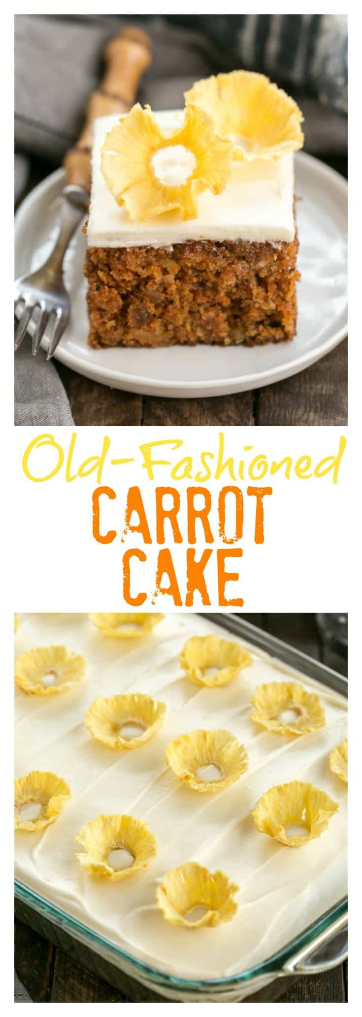 Small Carrot Cake Recipe With Pineapple