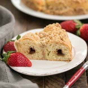 Copycat Sara Lee Butter Streusel Coffeecake | WAY better than Sara Lee's version!