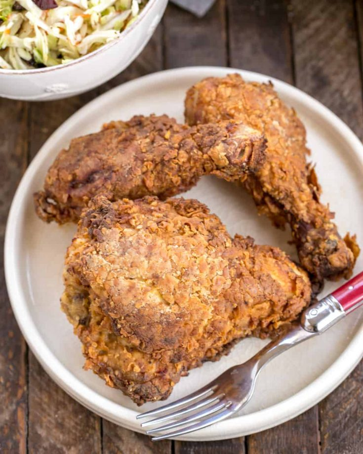 Easier Southern Fried Chicken