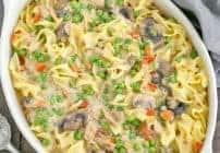 Tuna Noodle Casserole from Scratch #SundaySupper