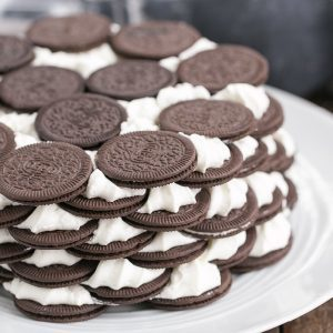 No Bake Oreo Icebox Cake Recipe