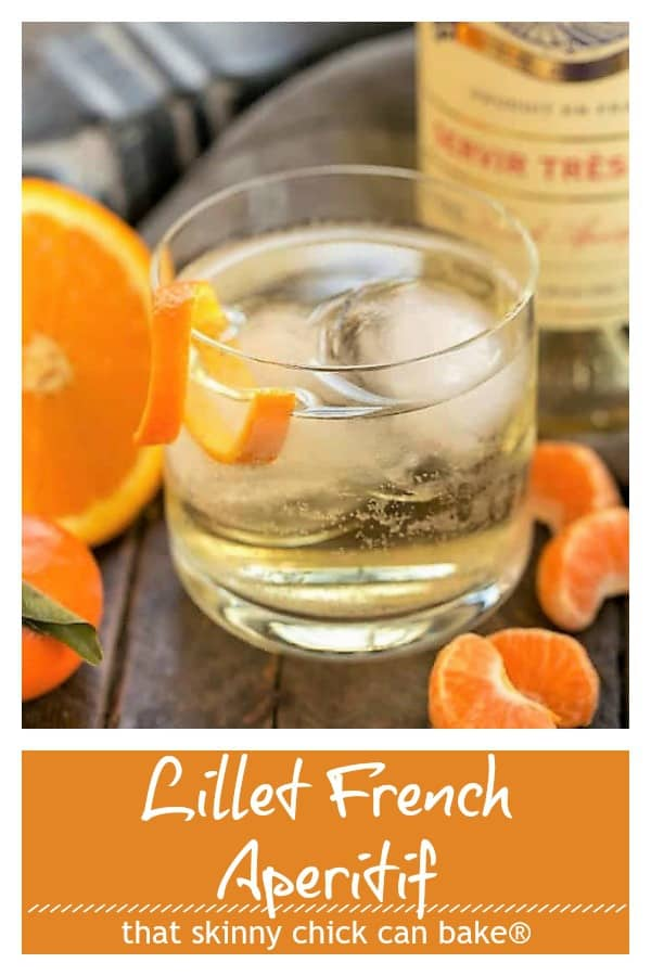 Lillet French Aperitif pinterest collage