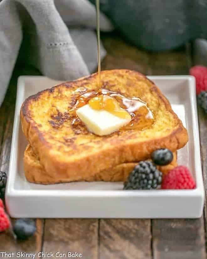 Grand Marnier French Toast That Skinny Chick Can Bake
