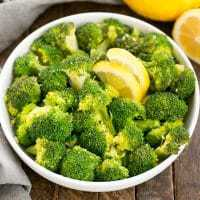 Lemon Garlic Broccoli - an easy saute that makes an irresistible side dish