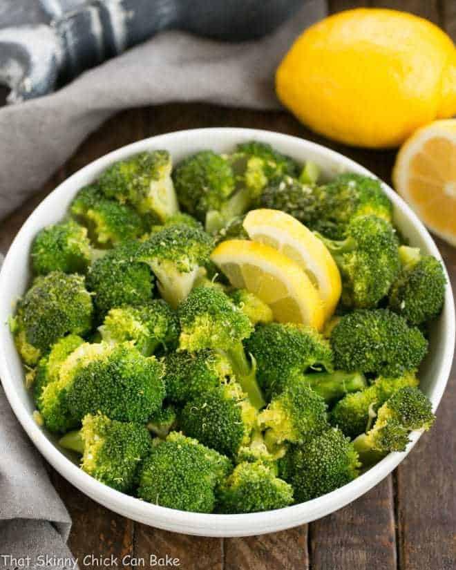 Lemon Garlic Broccoli - an easy saute that makes an irresistible side dish