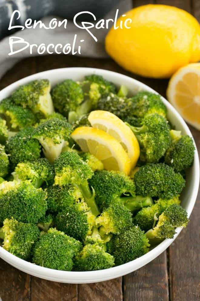 Broccoli - an easy saute that makes an irresistible side dish! #sidedish #broccoli #lemon #garlic