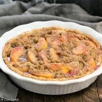 Peach Crumb Pie featured image