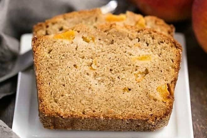 Southern Peach Bread featured image