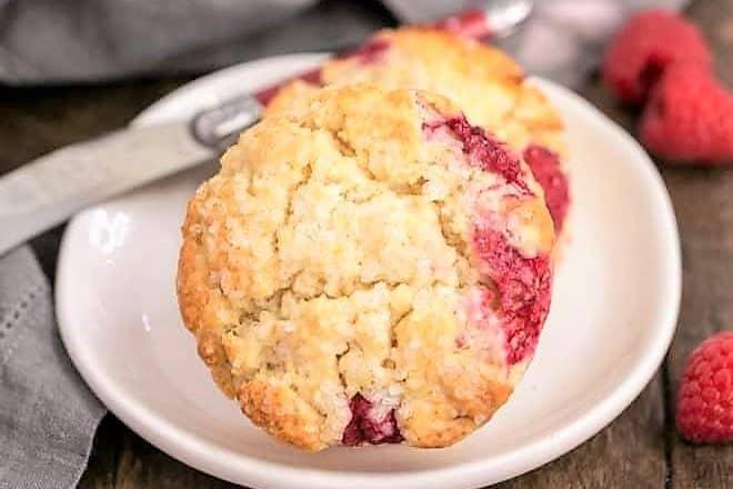 Raspberry Cream Scones featured image