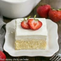 Authentic Tres Leches Cake - A Latin American favorite make with 3 milks, a homemade sponge cake and whipped cream frosting!