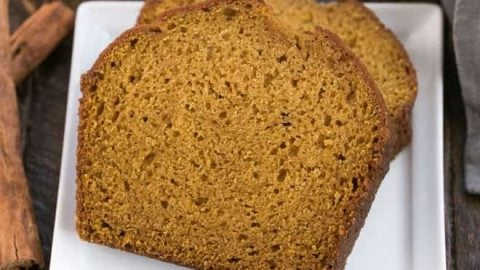 Classic Pumpkin Bread That Skinny Chick Can Bake