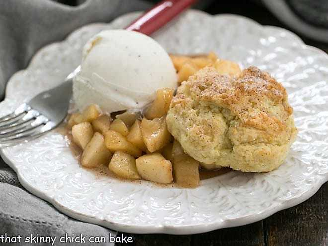 Old Fashioned Apple Cobbler That Skinny Chick Can Bake