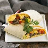 Tex-Mex Breakfast Burritos