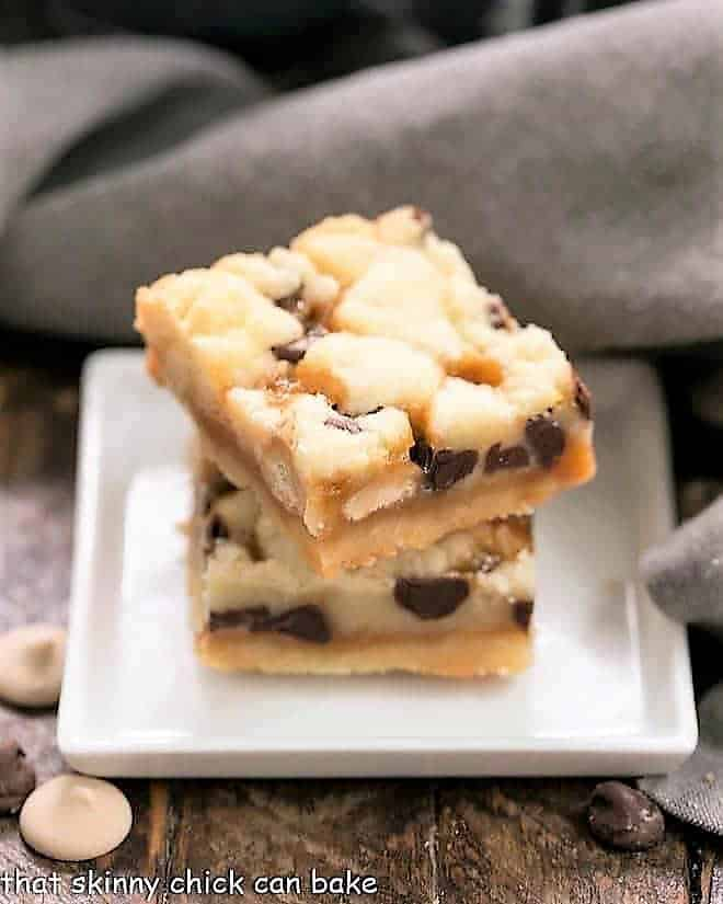 Chocolate Chip Caramel Butter Bars featured image