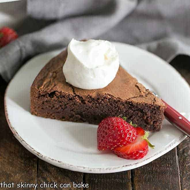 Torta Caprese Or Italian Flourless Chocolate Cake That Skinny Chick Can Bake