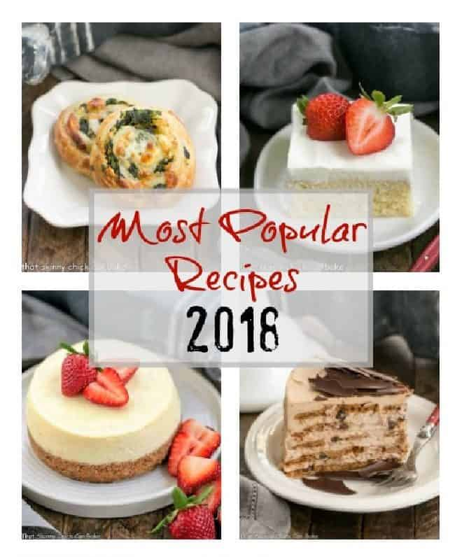Most Popular Recipes of 2018 featured image